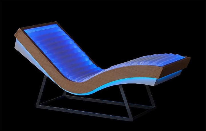 Ruheliege ARCUS ISO BENESSERE Chaise Longue